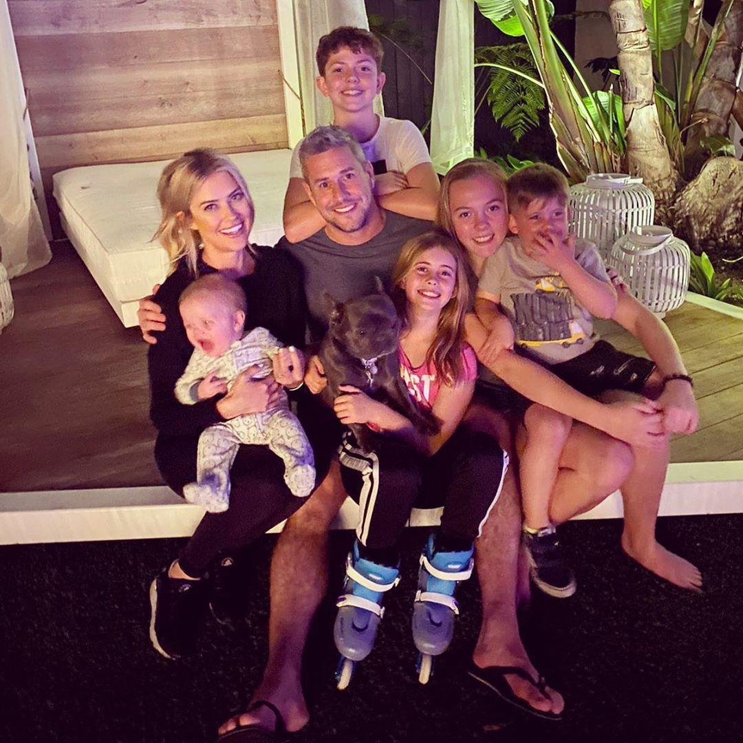 Christina and Ant Anstea'd Blended Family