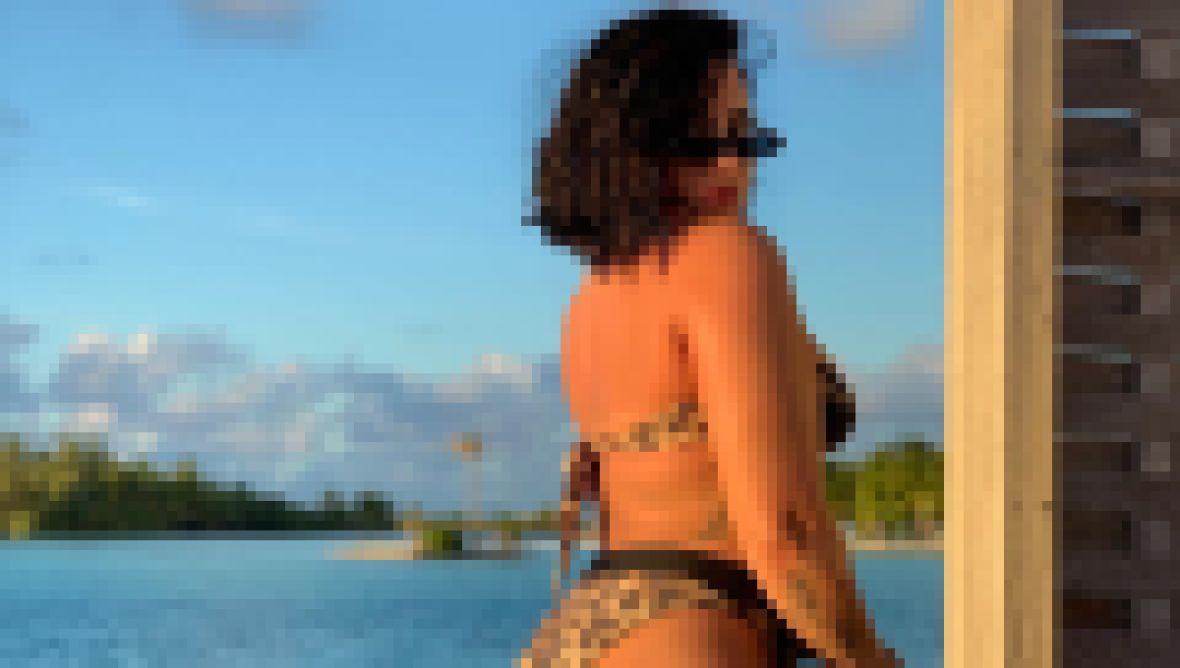 Demi Lovato Unedited Bikini Photo