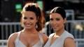 Demi Lovato and Kim Kardashian