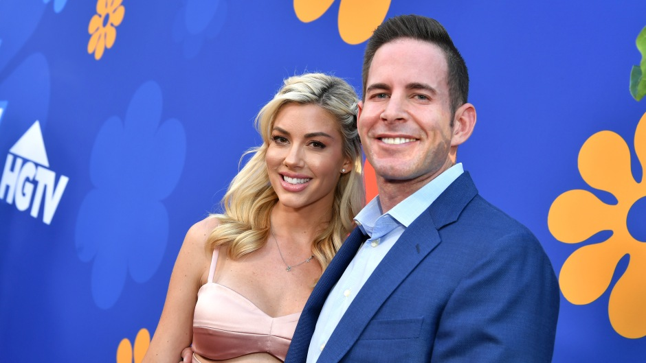 Heather Rae Young and Tarek El Moussa