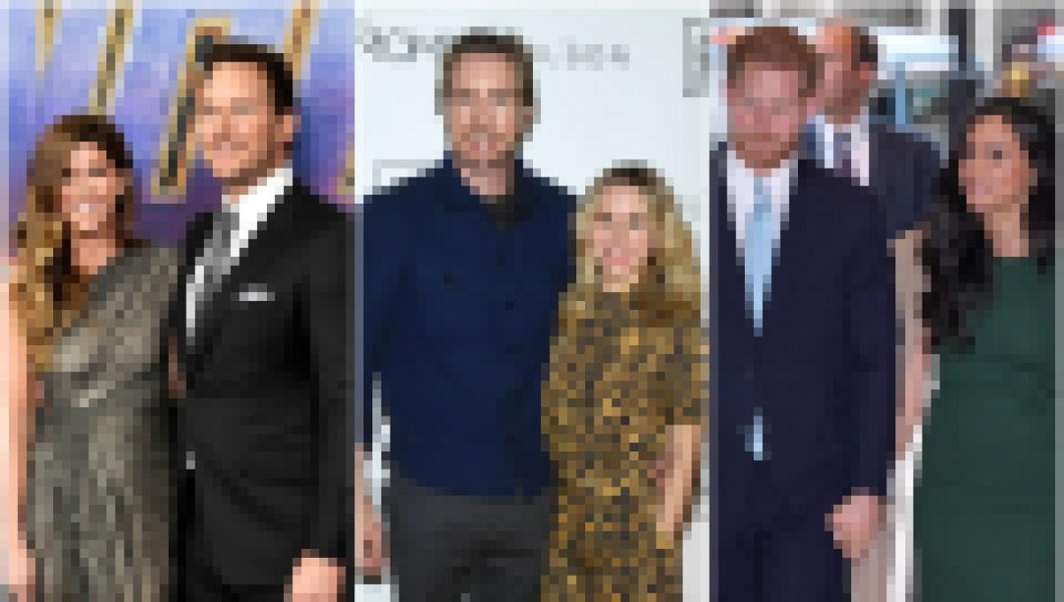 Chris Pratt Katherine Schwarzenegger Dax Shepard Kristen Bell Prince Harry and Meghan Markle Celebrate Valentines Day