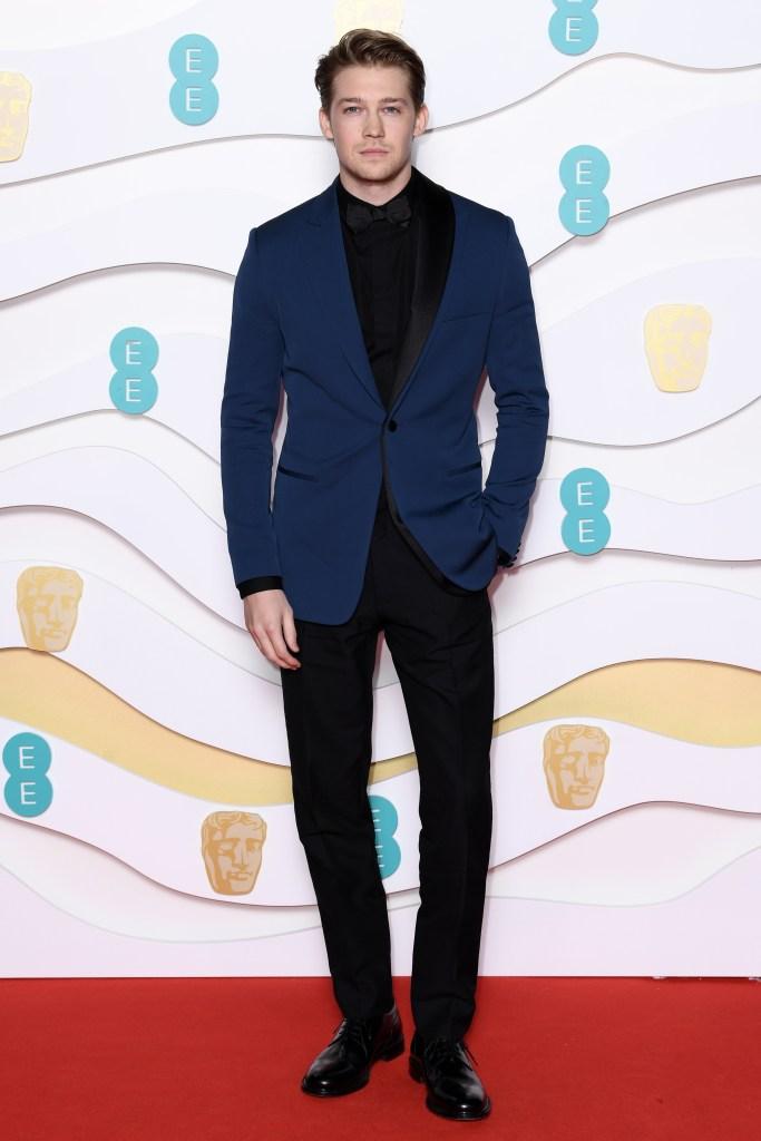 Joe Alwyn Red Carpet 2020 BAFTAs Without Taylor Swift