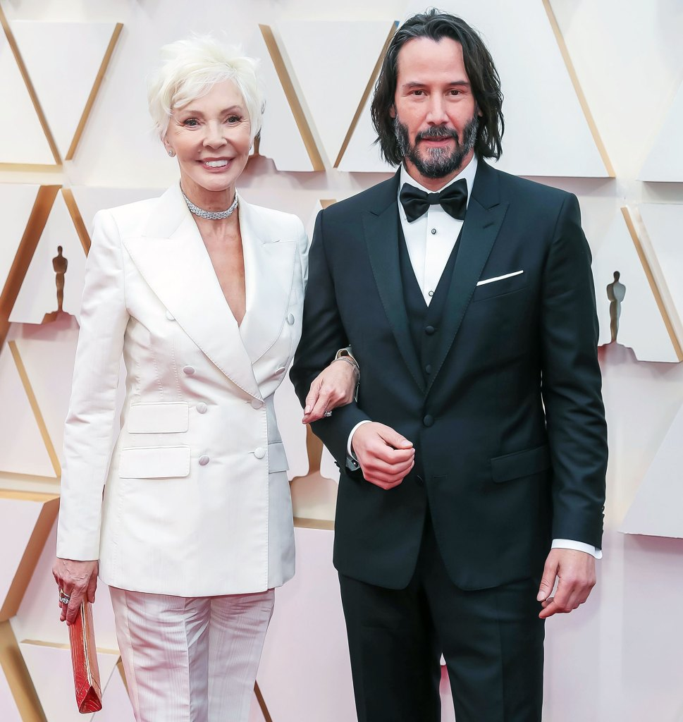 Keanu Reeves and his Mother Arrive for the 2020 Oscars Keanu Reeves Mom Patrica Taylor Adores His Girlfriend Alexandra Grant
