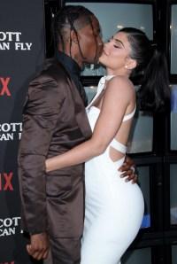 Kylie Jenner and Travis Scott Valentine's Day