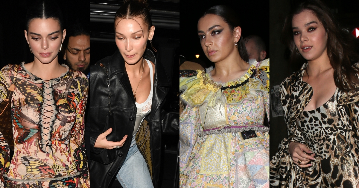 Kendall Jenner, Bella Hadid and More Step Out for London Fashion Week