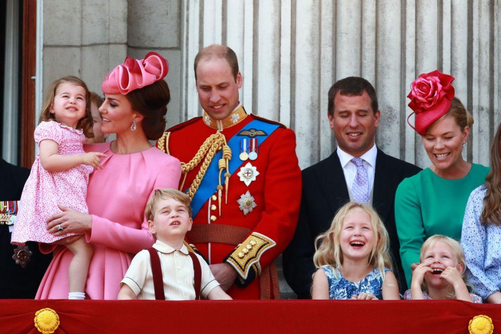 The Royal Family on the Balcony