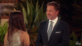 Chris Harrison Smiles at Contestant for Bachelor Listen to Your Heart