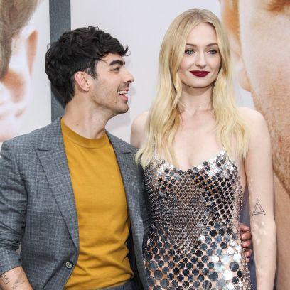 Joe Jonas Looking at Sophie Turner on Red Carpet