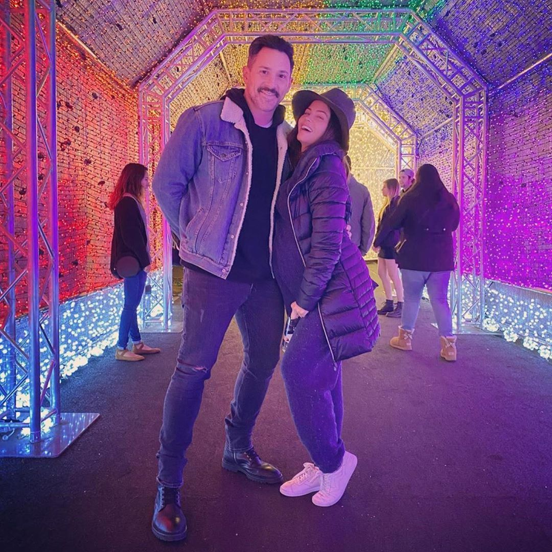 Steve Kazee and Jenna Dewan