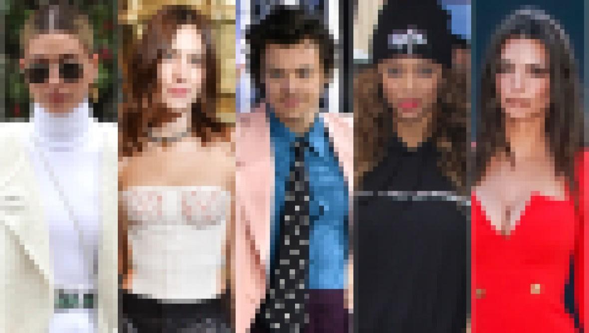 Hailey Baldwin, Alexa Chung, Harry Styles, Tyra Banks, Emily Ratajkowski Best Worst Dressed Celebs Winter