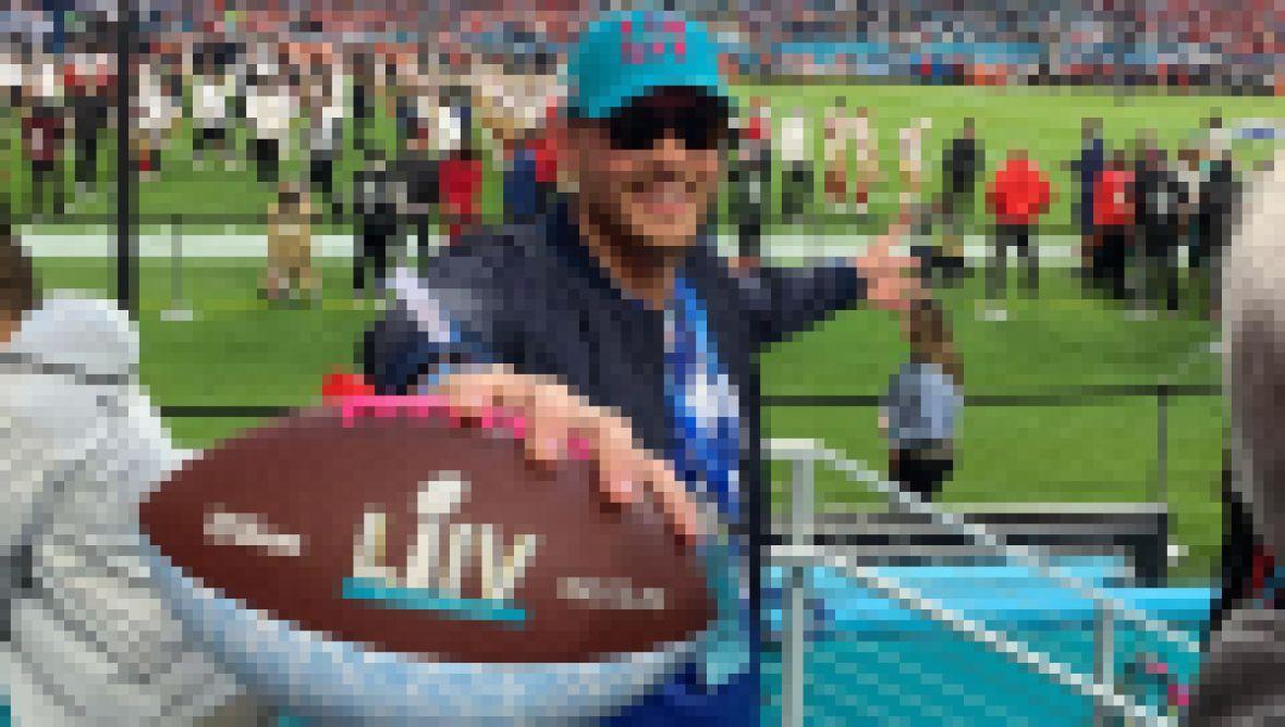 Celebs at Super Bowl LIV Peter Weber