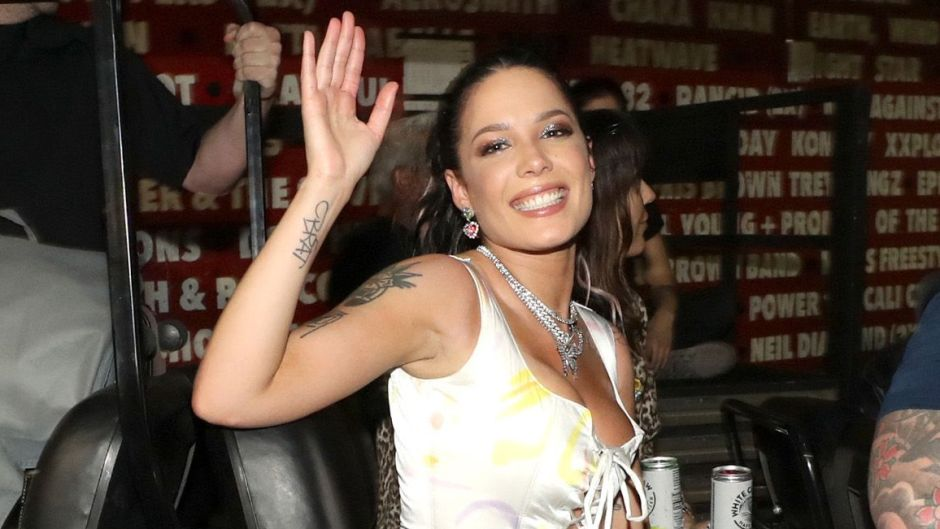 Halsey Topless and Makeup-Free in Iceland