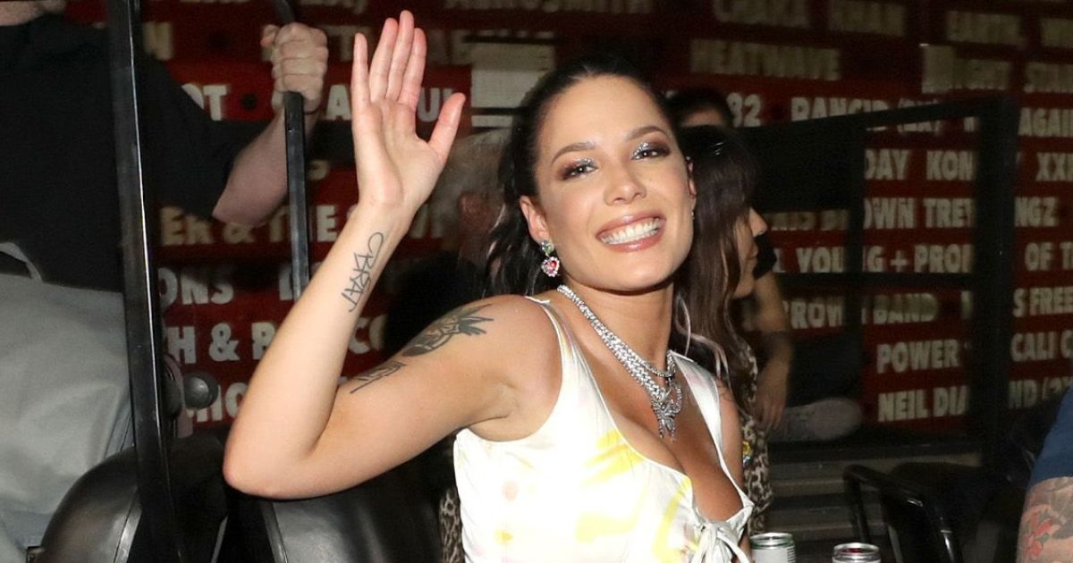 Halsey Goes Topless and Makeup-Free While Relaxing Hard in Iceland