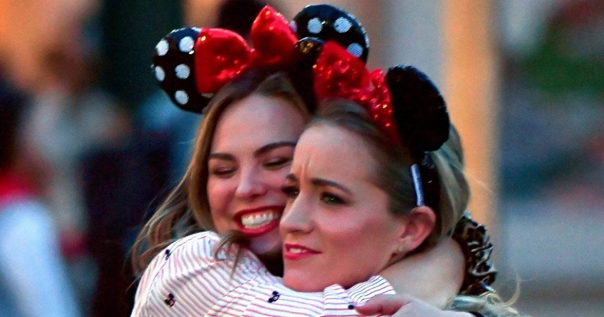 Bachelorette's Hannah B Spends Valentine's Day With Pal at Disneyland