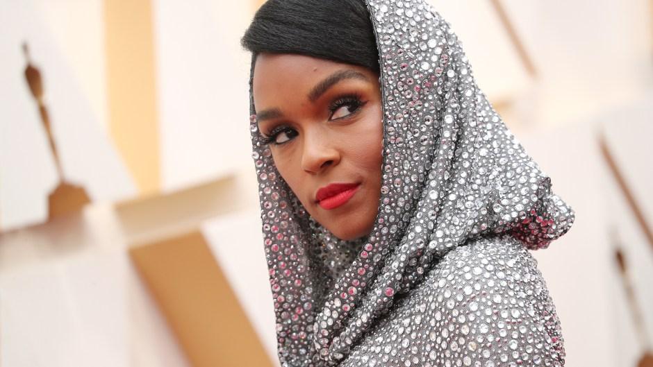 Janelle Monae Oscars red carpet dress