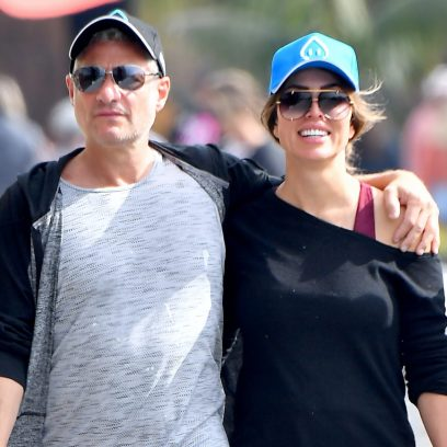 Kelly Dodd and Rick Leventhal PDA in Laguna Beach