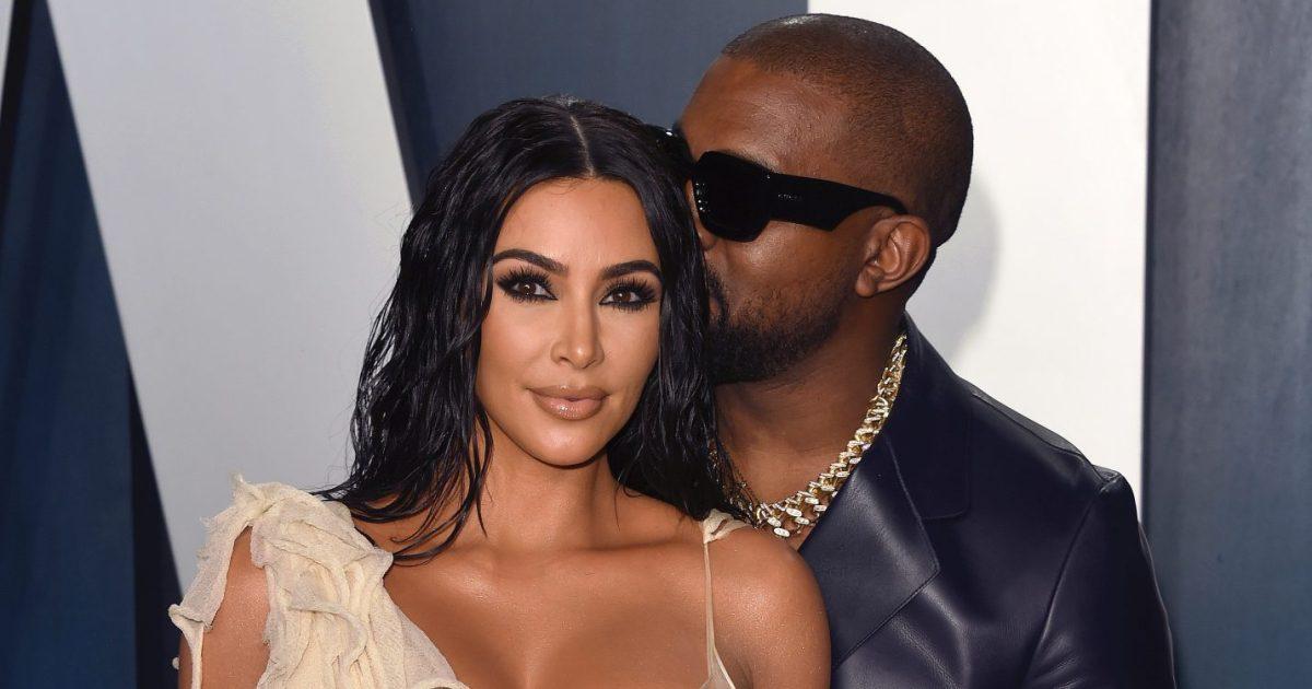 Kim Kardashian and Kanye West Take '#SurpriseTrip' for Valentine's Day