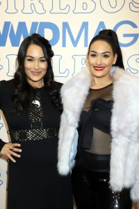 Nikki and Brie Bella Show Off Their Baby Bumps