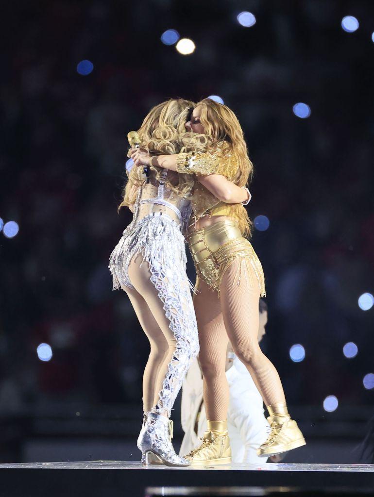 Shakira and Jennifer Lopez Super Bowl LIV Half Time