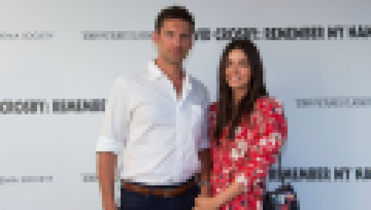 Katie Lee and Husband Ryan Biegel Hold Hands on Red Carpet