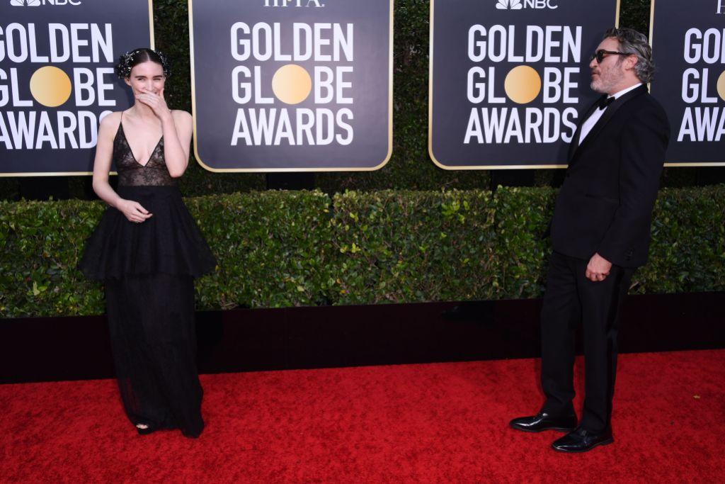 Joaquin Phoenix and Rooney Mara Engaged