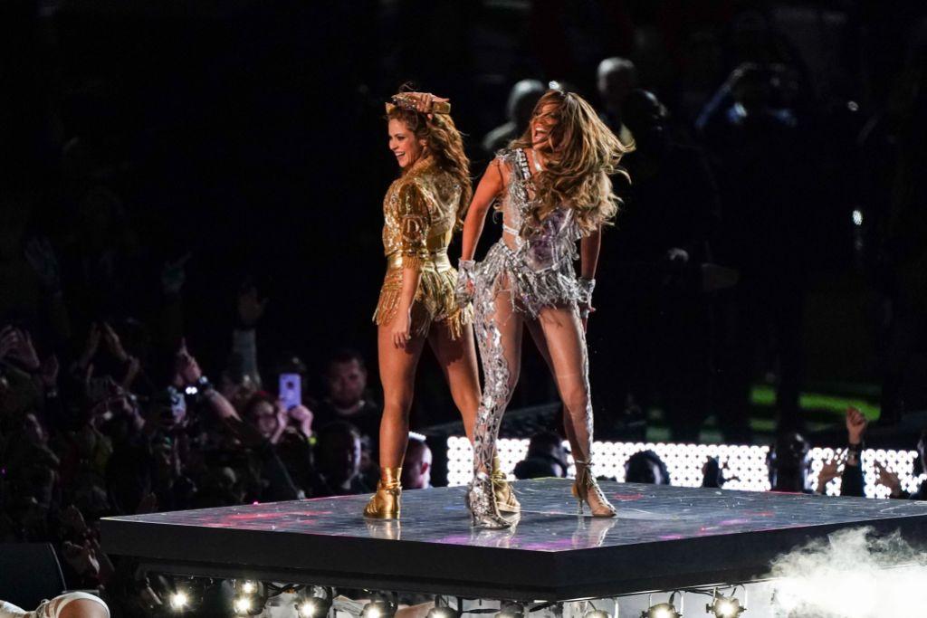 Shakira and Jennifer Lopez Super Bowl