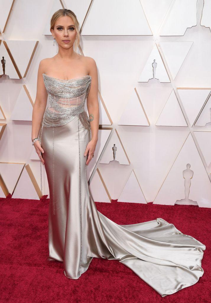 ScarJo 92nd Annual Academy Awards, Arrivals, Fashion Highlights, Los Angeles, USA - 09 Feb 2020