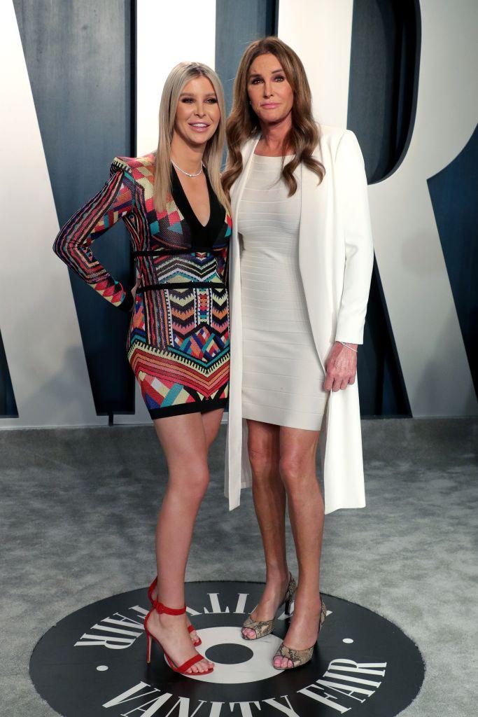 Sophia Hutchins and Caitlyn Jenner Vanity Fair Oscar Party, Arrivals, Los Angeles, USA - 09 Feb 2020