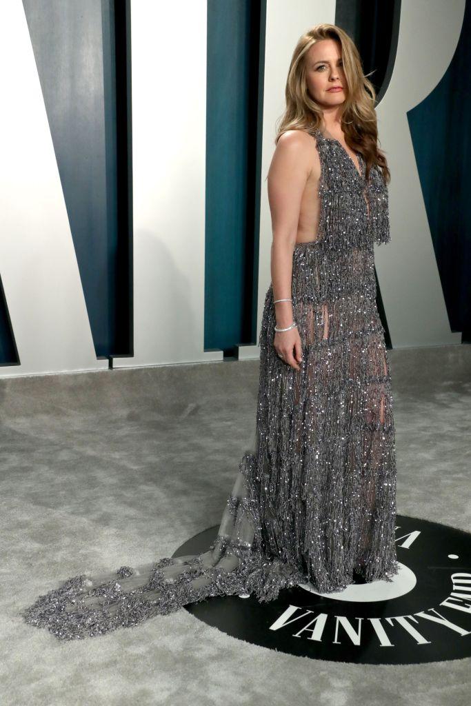 Alicia Silverstone Vanity Fair Oscar Party, Arrivals, Los Angeles, USA - 09 Feb 2020