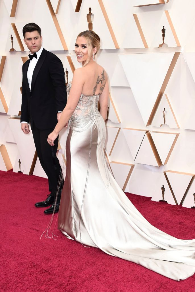 Scar Jo and Colin Jost 92nd Academy Awards - Arrivals, Los Angeles, USA - 09 Feb 2020