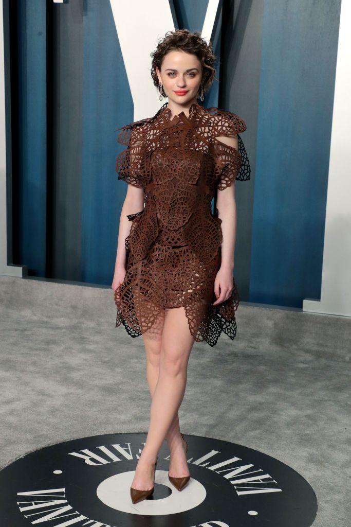 Joey King Vanity Fair Oscar Party, Arrivals, Los Angeles, USA - 09 Feb 2020