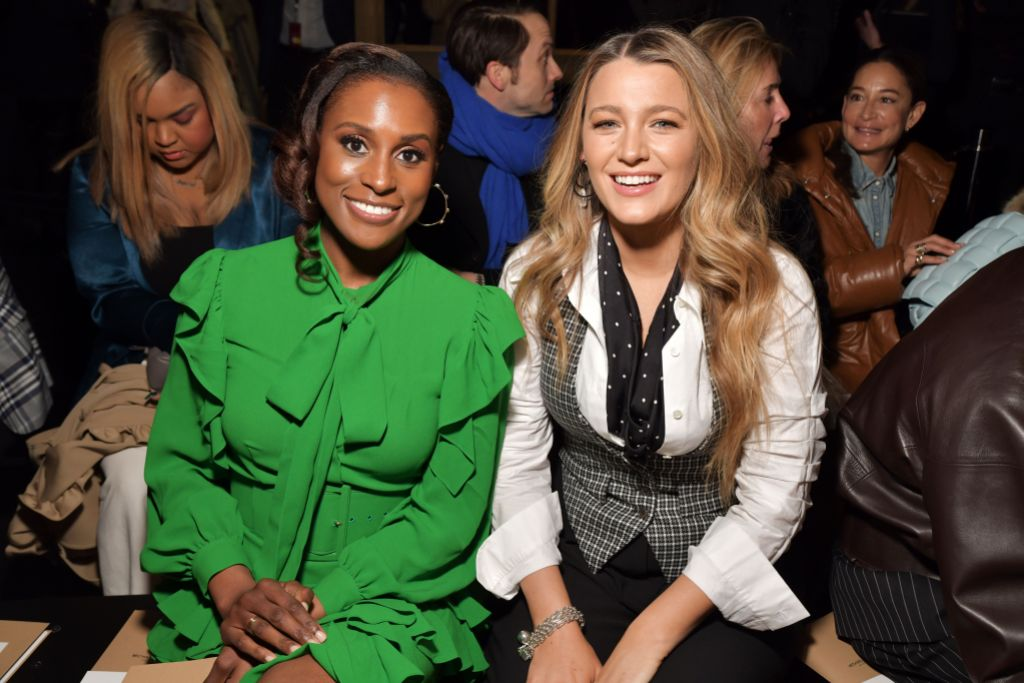 Blake Lively Michael Kors Show With Issa Rae NYFW