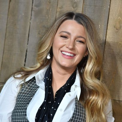 Blake Lively Smiles at Michael Kors show, Arrivals, Fall Winter 2020, New York Fashion Week, USA - 12 Feb 2020