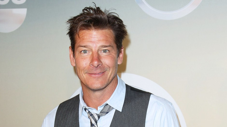 Extreme Makeover Home Edition Host Ty Pennington Smiles in Vest and Button Down Shirt