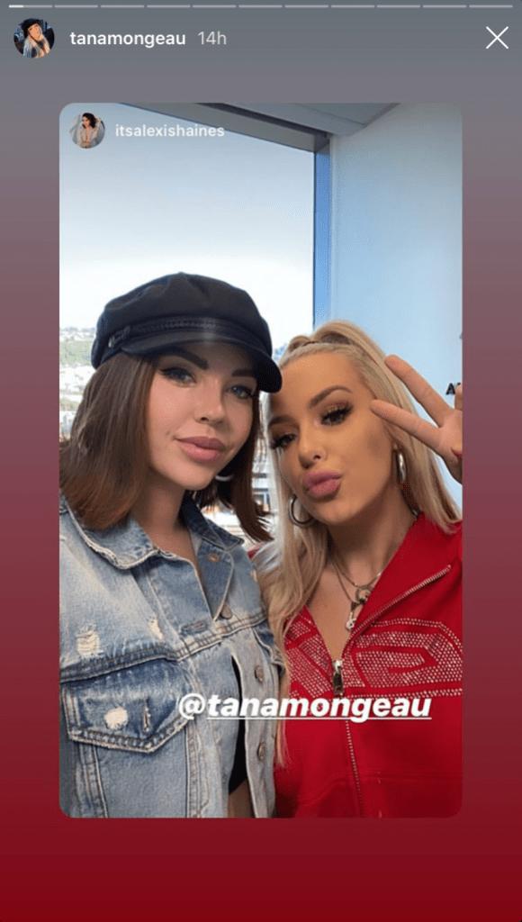 Tana Mongeau and Alexis Neiers