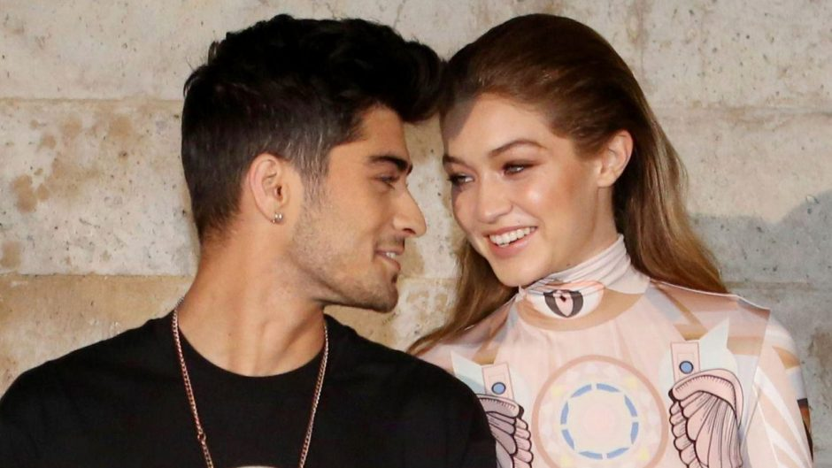Zayn Malik and Gigi Hadid Valentine's Day Post