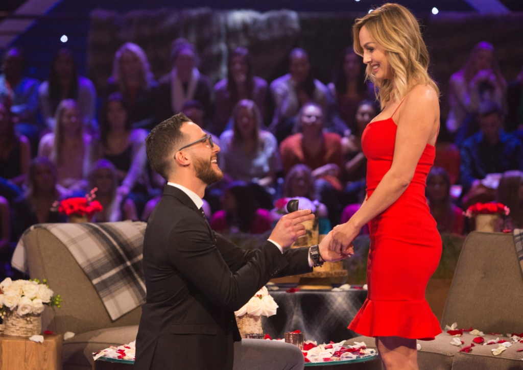 Clare Crawley and Benoit Engagement on Bachelor Winter Games