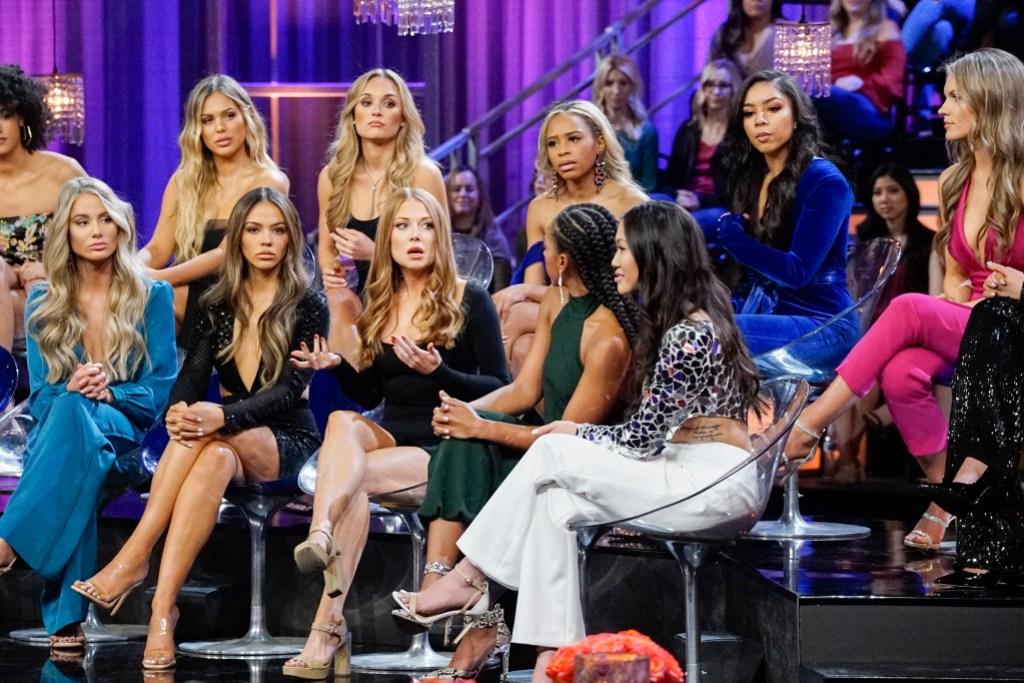 Bachelor Women Tell All VICTORIA P, KYLIE, SYDNEY, SARAH, LEXI, KIARRA, TAMMY, DEANDRA, SAVANNAH