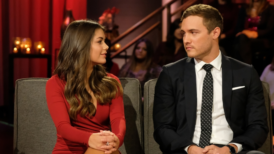 Hannah Ann Sluss Wears Red Dress on After the Final Rose With Peter Weber in a Black Suit