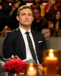 Bachelor Peter Weber Sits Emotionally During After the Final Rose