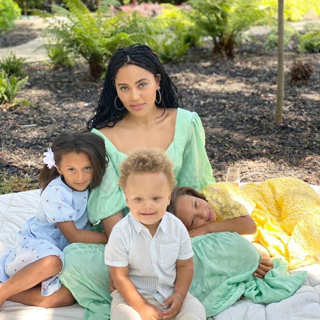 Ayesha Curry and Kids