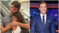Bachelor Contestant Madison Prewett Hugs Dad Chad in Split Image With Peter Weber Smiling in Blue Suit