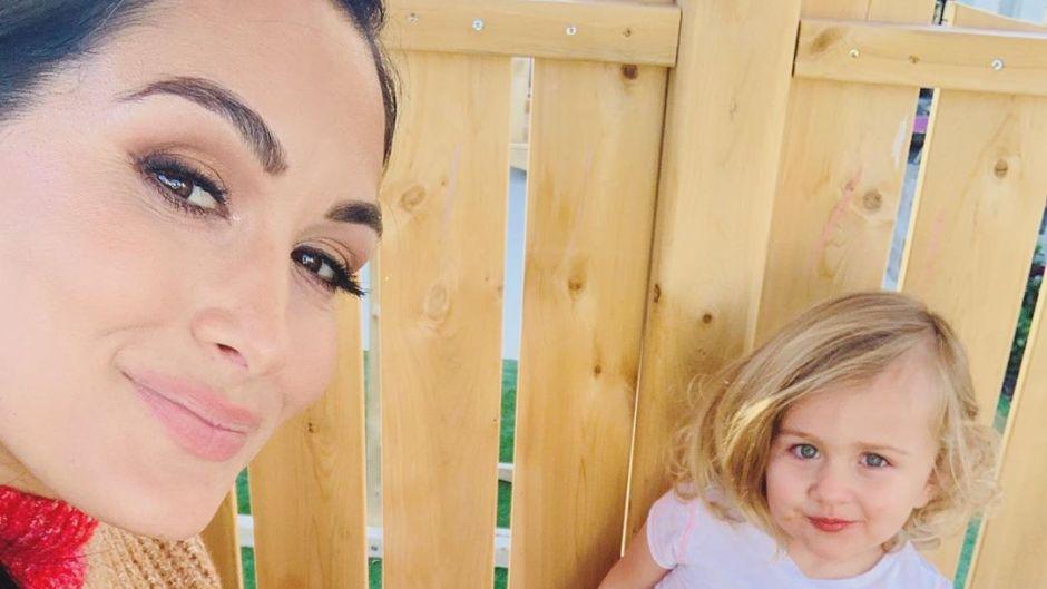 Brie Bella and Birdie