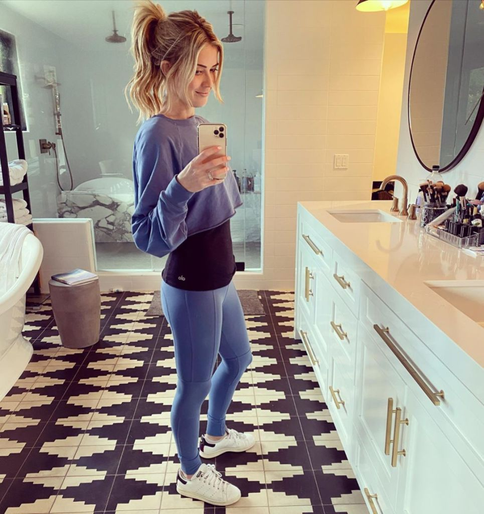 Christina Anstead shows Off Post-Baby Body