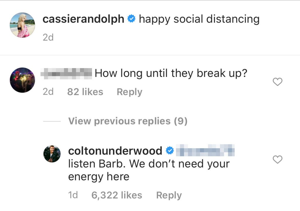 Colton-Underwood-Shades-Barbara-Weber-in-Clapback-About-Cassie