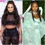 Demi Lovato Wants to Make Out With Rihanna