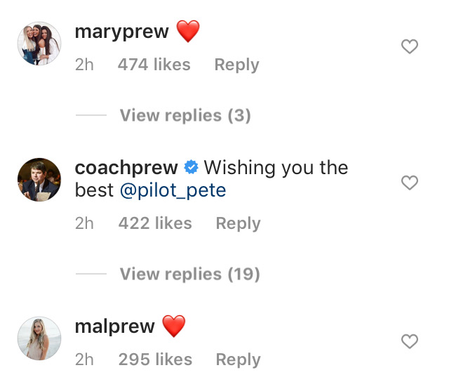 Madison Prewett Dad Chad and Sisters Mary and Mal Wish Peter Weber Well After Bachelor Split