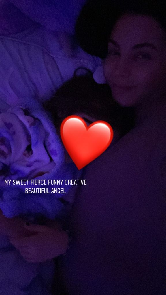 Jenna Dewan Snuggling Daughter Everly Tatum