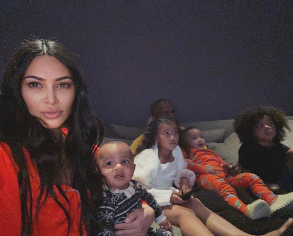 Kardashian West Family Selfie