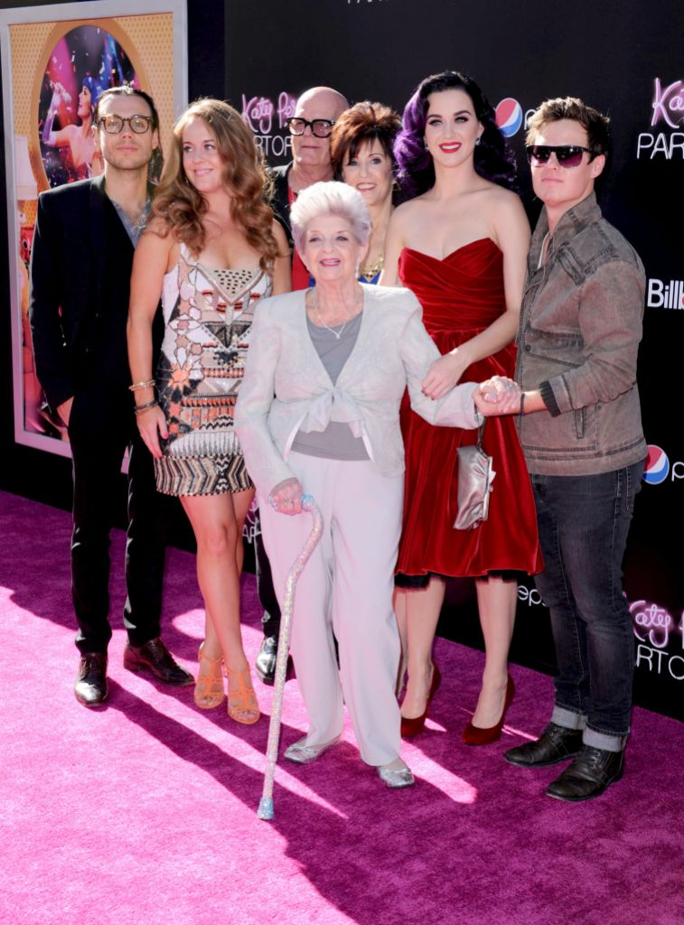 Katy Perry With Family